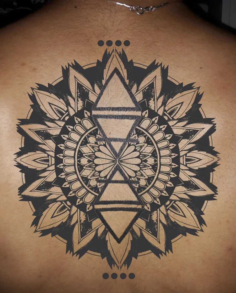 Entry 6 By Bethnielsen1960 For Lotus Flower Mandala Design Around Existing Tattoo Freelancer