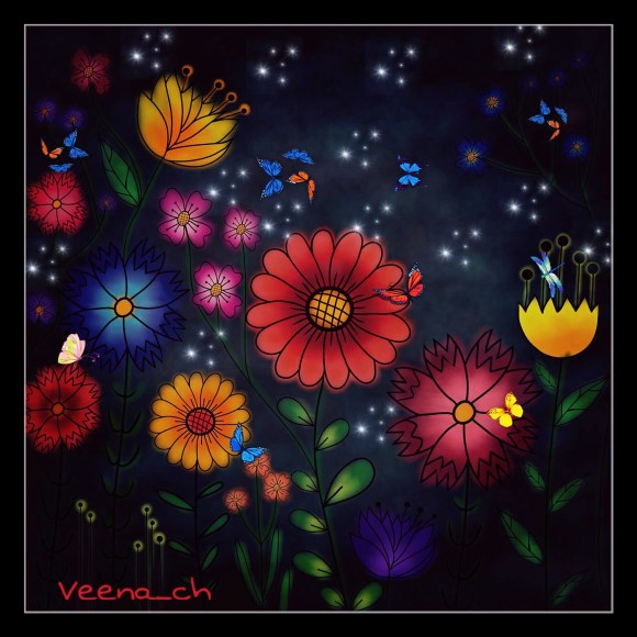 gdfloralcolorin Image by Veena