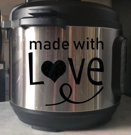 Vinyl Decals Instant Pot