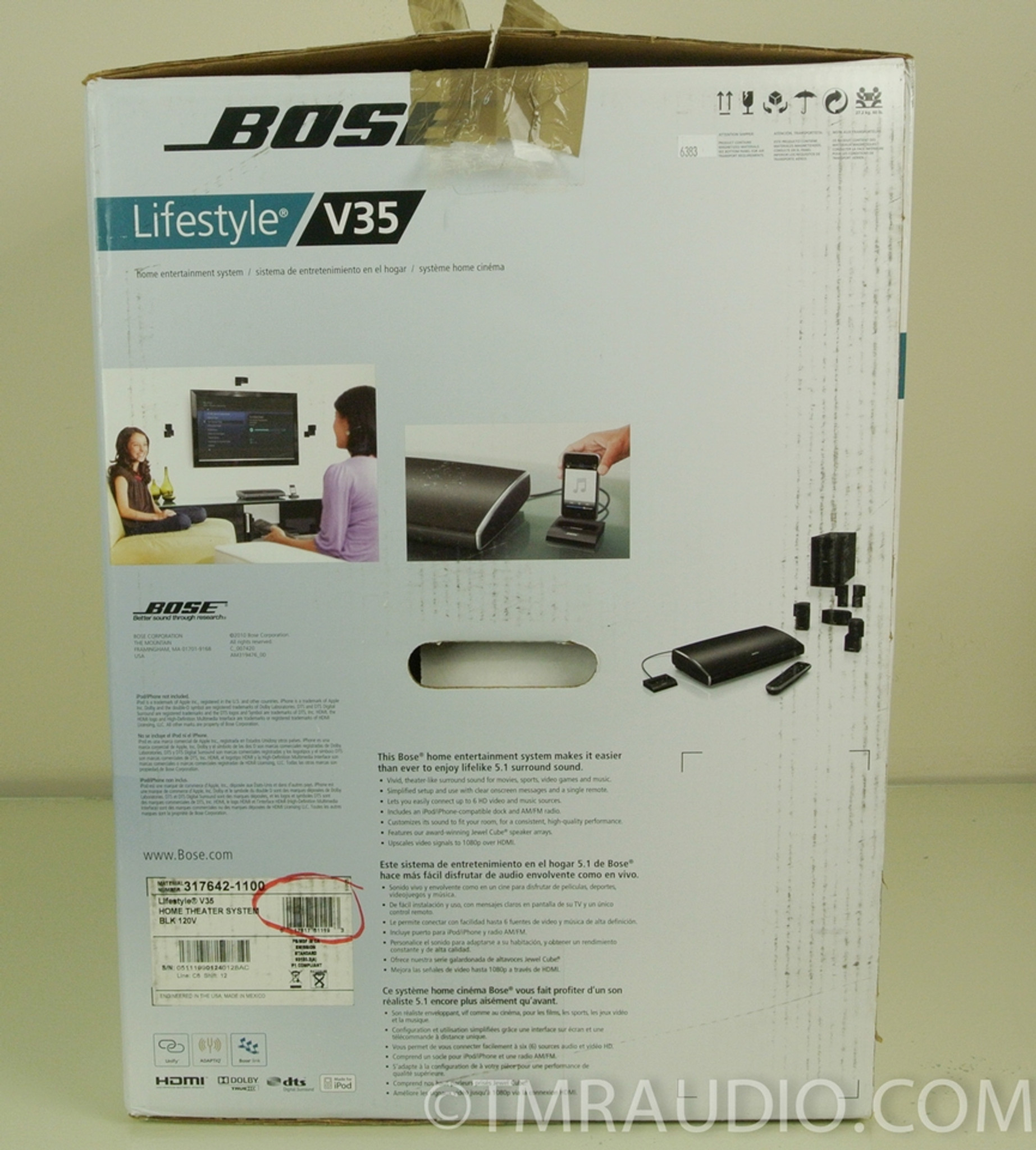 Bose Lifestyle 35 System