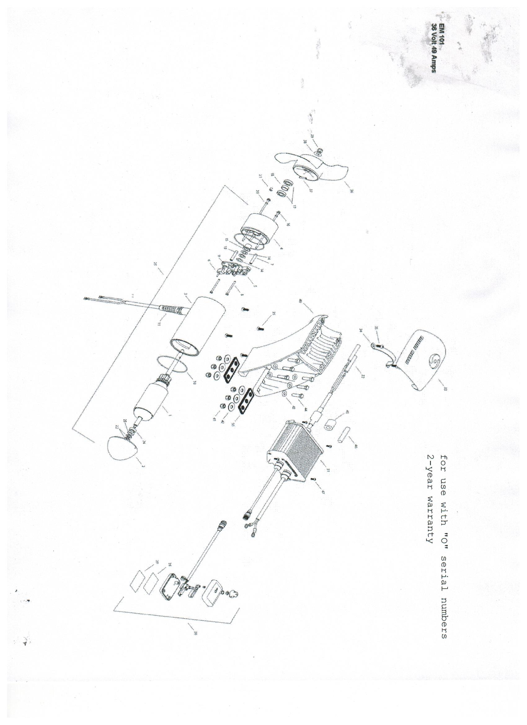 Minn Kota Engine Mount 160 Parts