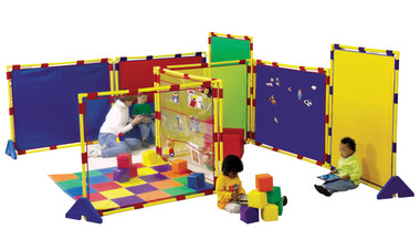 Childrens Factory Big Screen Super Set Of 8 Pieces Play Pannels Room Dividers Daycare