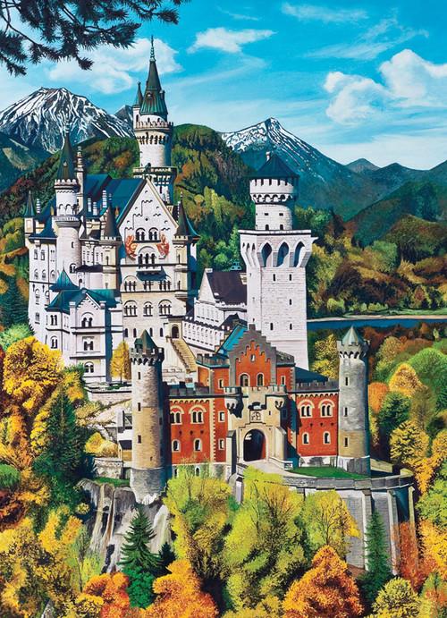 Bavarian Castle 1000pc Jigsaw Puzzle By Jack Pine