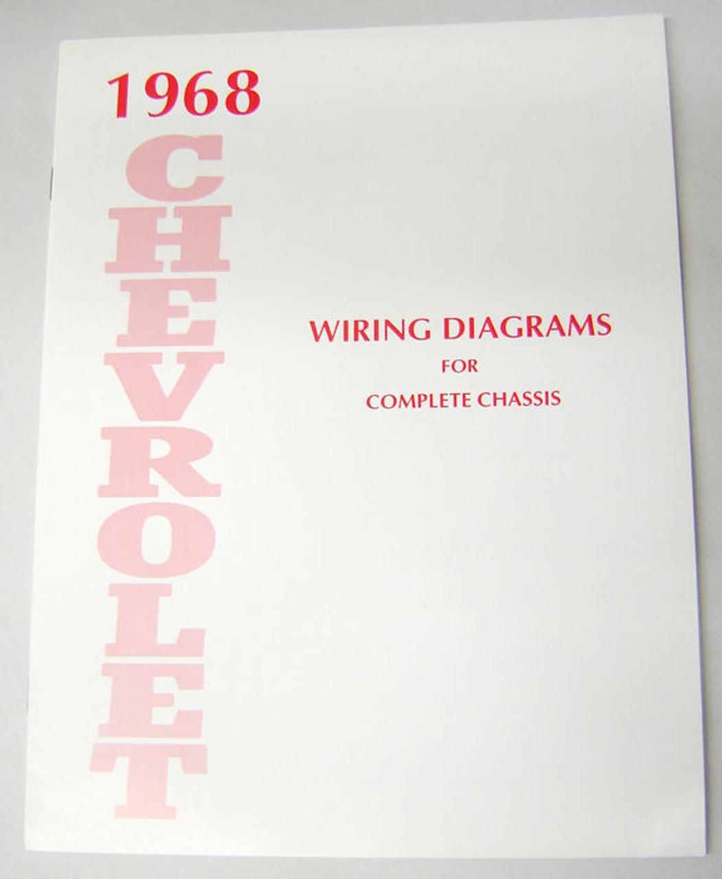 68 1968 Chevy Impala Electrical Wiring Diagram Manual  I