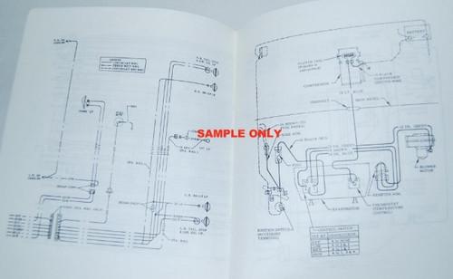 74 Chevy Chevrolet Nova Electrical Wiring Diagram Manual 1974  I5 Classic Chevy