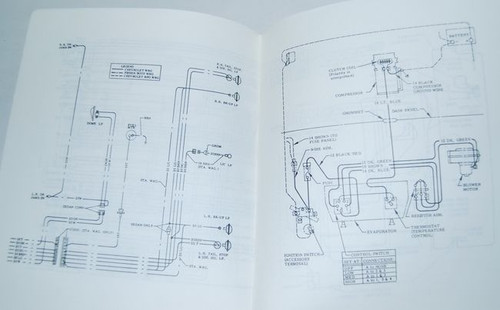 70 CHEVELLE EL CAMINO ELECTRICAL WIRING DIAGRAM MANUAL