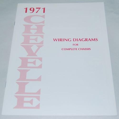 71 1971 Chevy Nova Electrical Wiring Diagram Manual  I5 Classic Chevy
