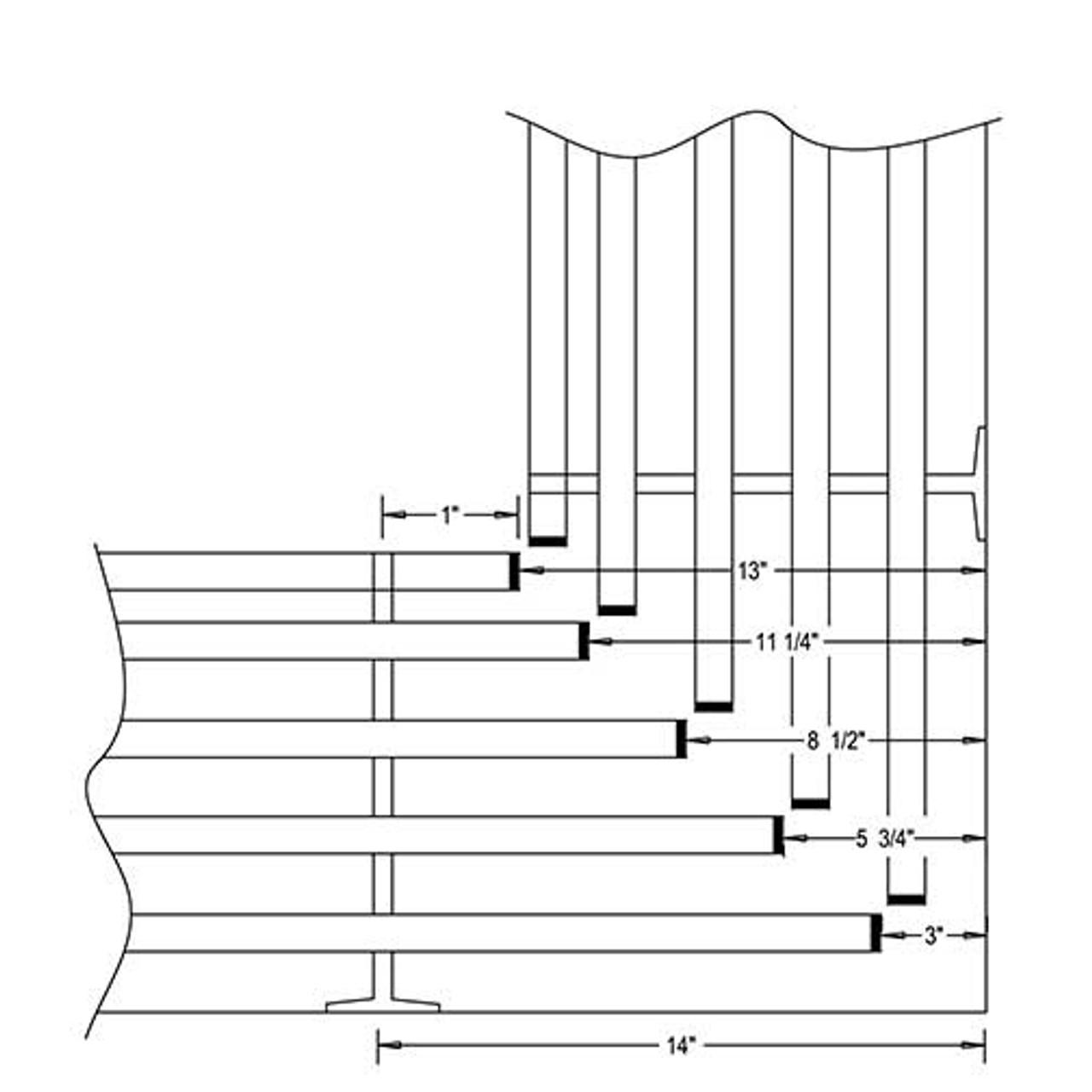 Glaro Hanger Coat Wall Rack Mounted