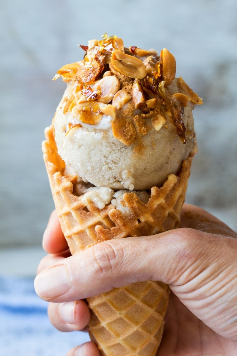 vegan banana ice cream cone 800x1200 - 10 Best Places To Eat & Drink In Greece