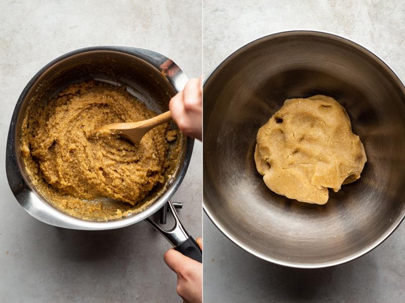 vegan marzipan truffles 5 ingredients dough