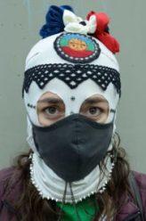 Plantón por la Mujeres en Medellín