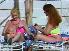 Kayla Kleevage & Cassandra's Pool Plunge