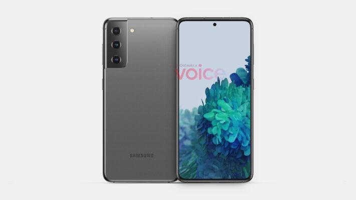 Tidiga ryktesbilder på Samsung Galaxy S21
