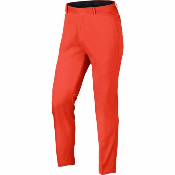 Nike New Flat Front Men s Golf Pants   Orange