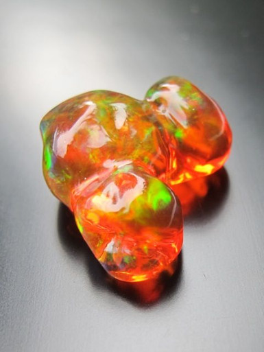 Trinity Treasure Mexican Fire Opal SOLD Marty Magic