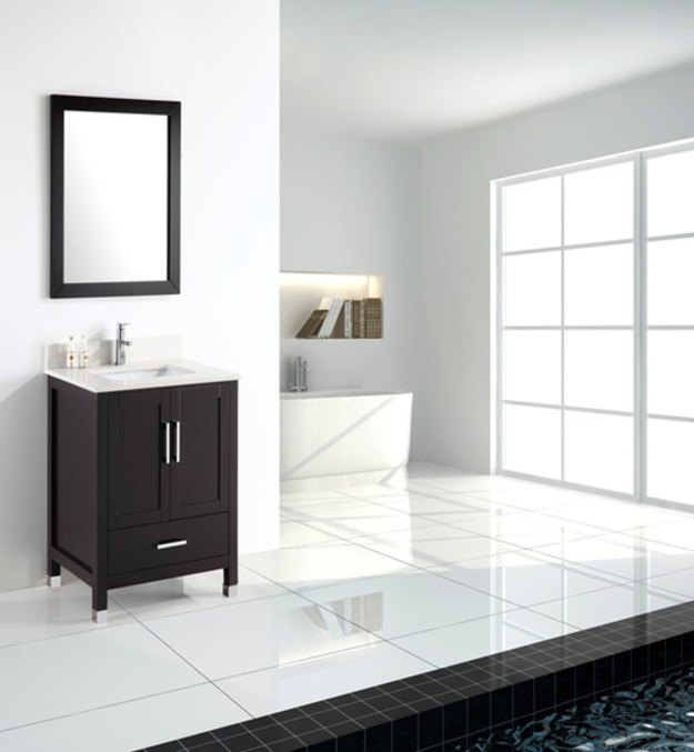 "armada 30"" bathroom vanity espresso - york taps"