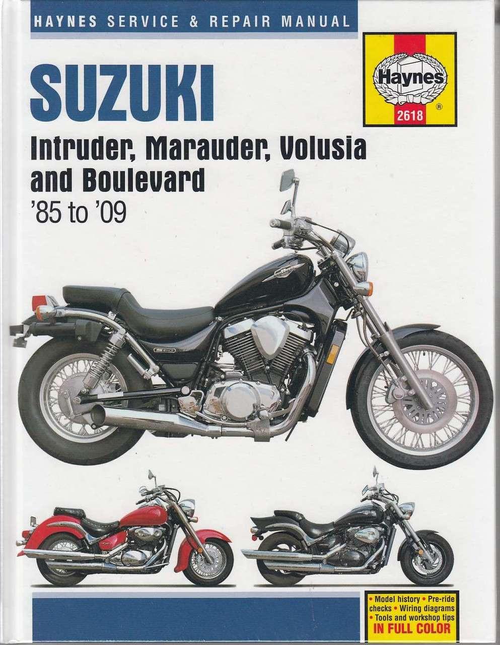 2009 Suzuki M50 Wiring Diagram | Wiring Library