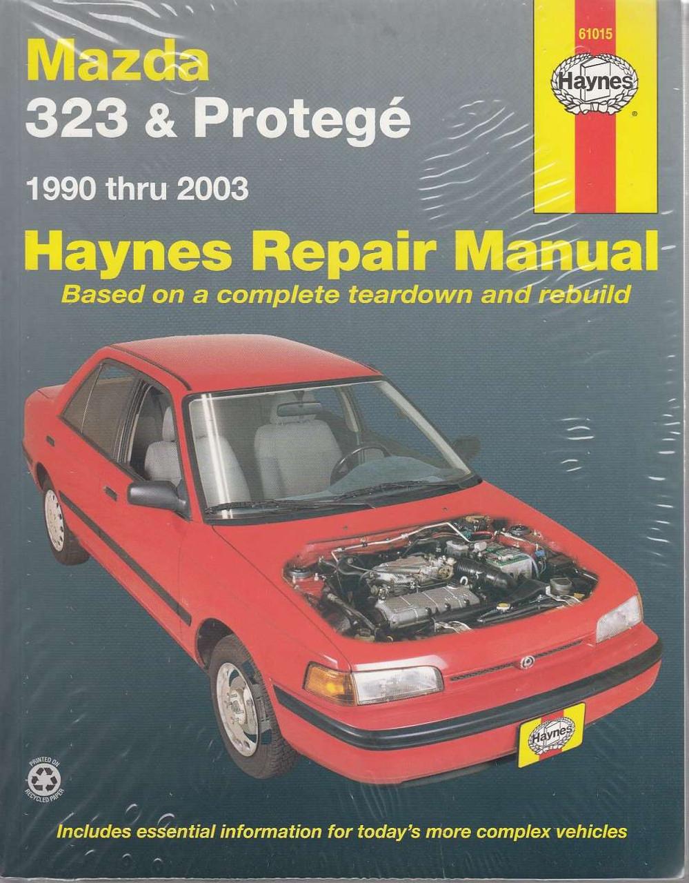 Mazda 323 and Protege 1990  2003 Workshop Manual