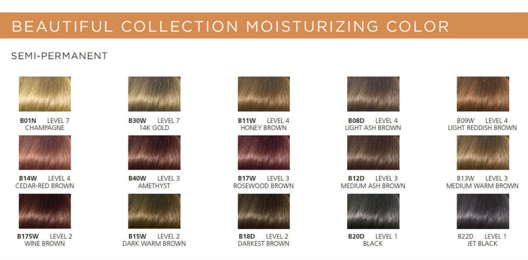 Clairol Beautiful Collection Semi Permanent Hair Color 11w Honey