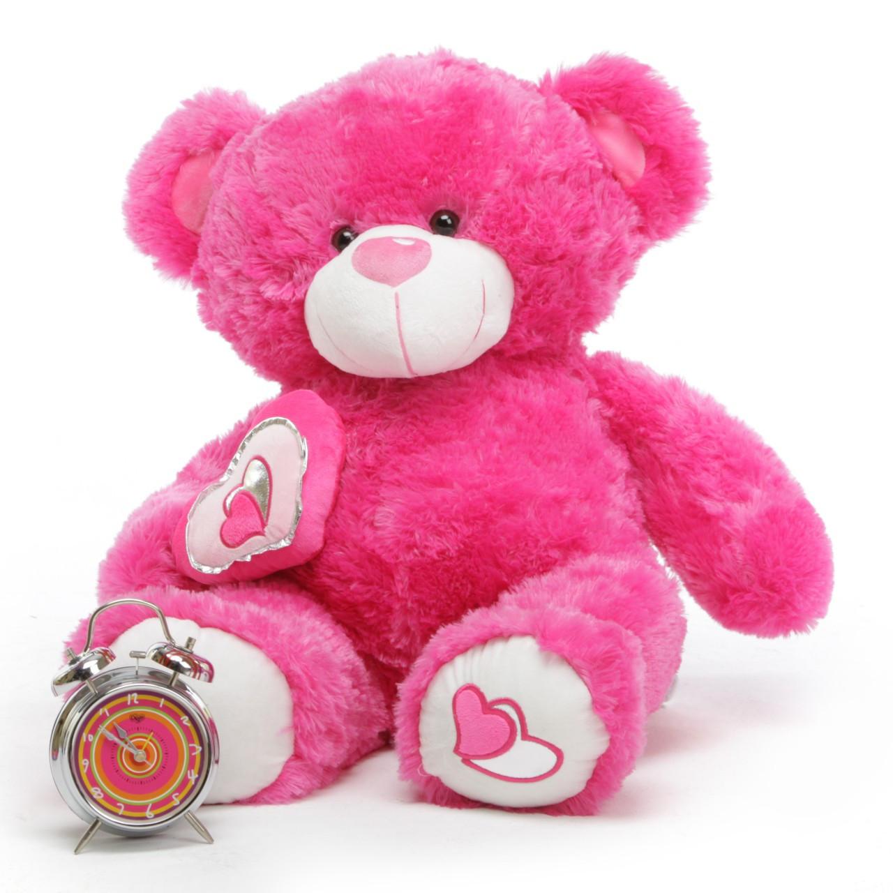 ChaCha Big Love 30 Hot Pink Valentine Teddy Bear Giant