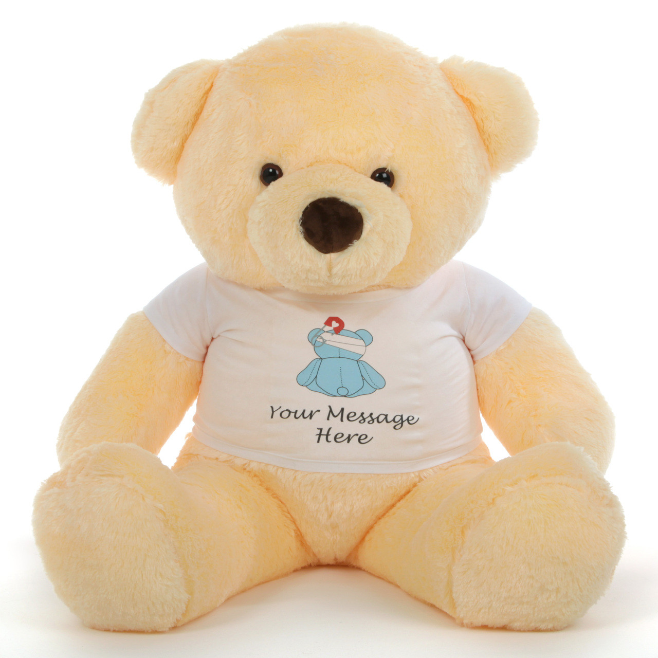 Adorable Personalized Feel Better Bears From Giant Teddy
