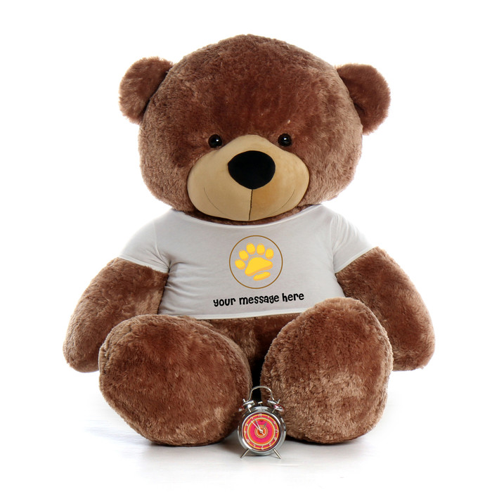 6ft Life Size Personalized Teddy Bears Customize Message