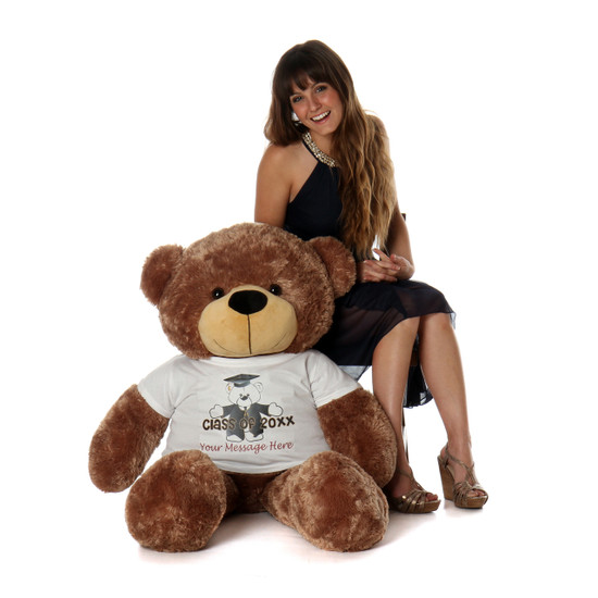 Life Size 4ft Personalized 2018 Graduation Teddy Bear