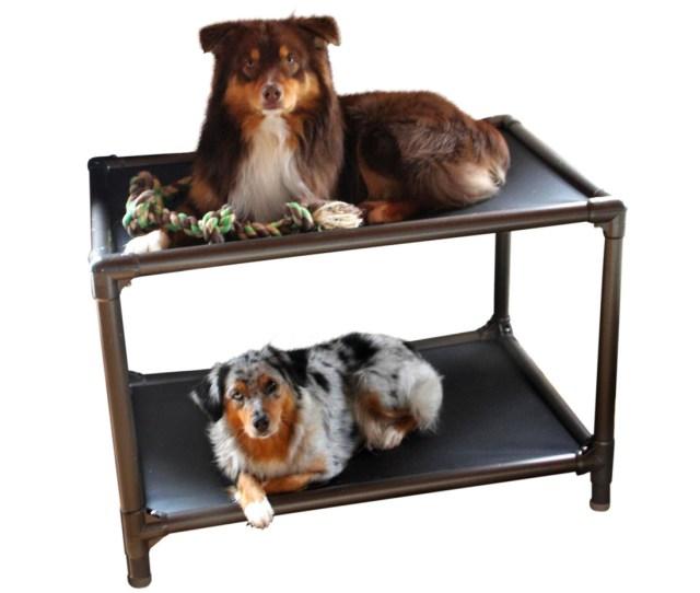 Dog Bunk Bed Walnut