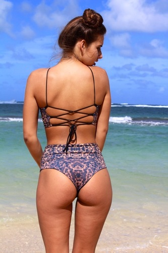 Plus Size Curvy Swimwear Bikini Bottoms Plus Size
