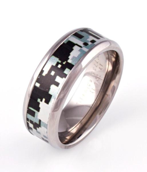 Digital Camo Ring Unique Titanium Rings Amp More