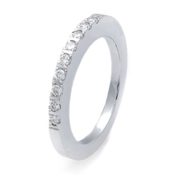 Womens Cobalt Companion Diamond Ring Titanium Buzz