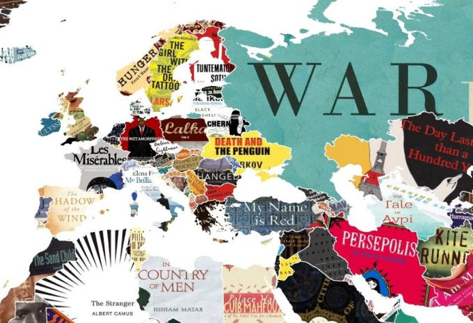 The favorite literary work of every country artes contextos my takeaway and possibly yours from the map is how many titles are new to the westerner europe has some familiar titles spain gets cervantes don quixote gumiabroncs Choice Image