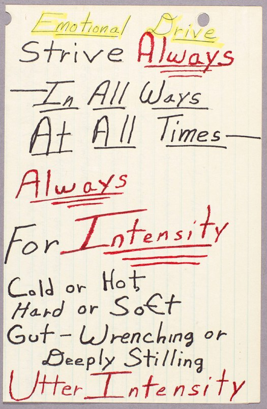 Behold Octavia Butler's Motivational Notes to Self 2