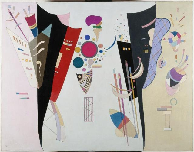 Accord re%CC%81ciproque • The Evolution of Kandinsky's Painting: A Journey from Realism to Vibrant Abstraction Over 46 Years Art, History