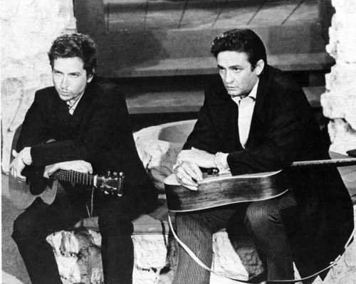Image result for bob dylan and johnny cash images