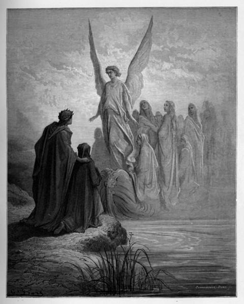 4:arrival of souls purgatory
