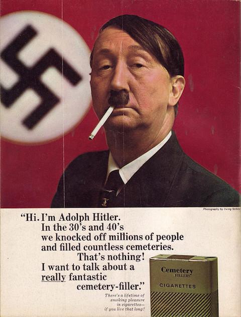 Mad-Hitler Cigarettes