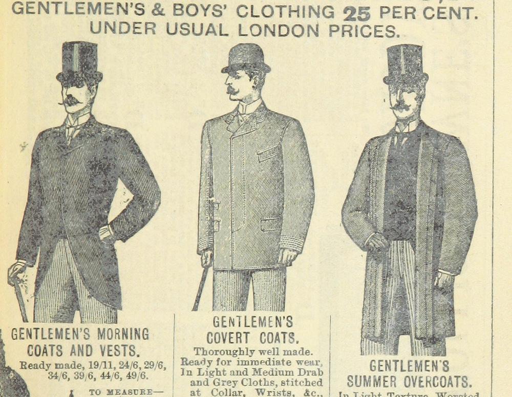 Gentlemen's Clothing