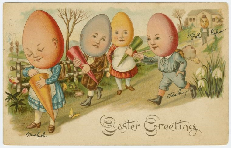 Download Beautiful Free Vintage Easter Cards From The New