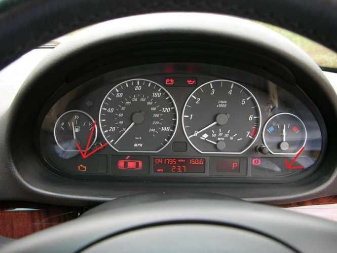 Bmw E Dashboard Symbols Best BMW Series - Bmw e46 dashboard signs