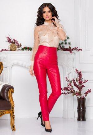 pataloni piele ieftini Pantaloni