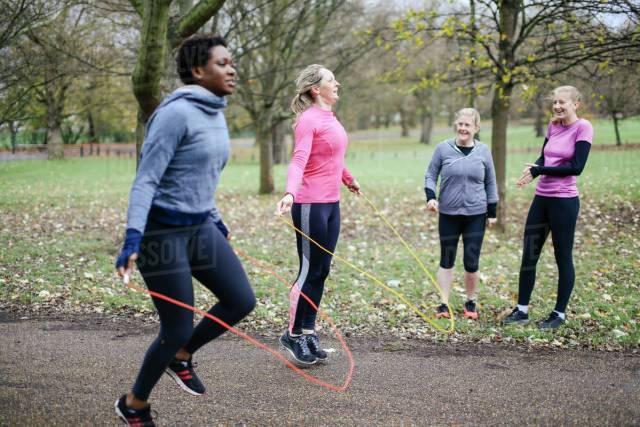 Image result for women skipping