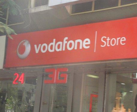Vodafone store - telecom company - India