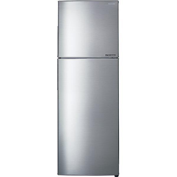 Frigider cu doua usi SHARP SJ-X300SL, No Frost 224 l, H 156 cm, Clasa A++, Hybrid Cooling System, argintiu