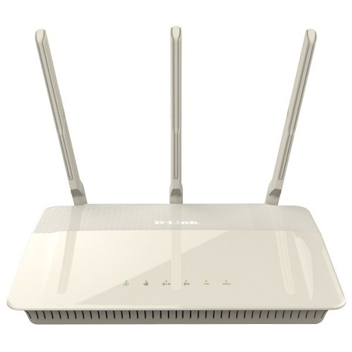 Router wireless D-LINK Cloud AC1900 DIR-880L, Dual-Band 600 + 1300Mbps, WAN, LAN, USB 3.0, USB 2.0, alb