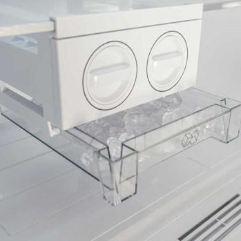 Frigider cu 2 usi SHARP SJ-T1400M0I-EU, Advanced NoFrost, 400 l, H173.1 cm, Clasa A+, inox