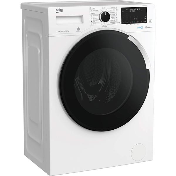 Masina de spalat rufe frontala BEKO WUE8746XWST, HomeWhiz, 8kg, 1400rpm, Clasa A+++, alb