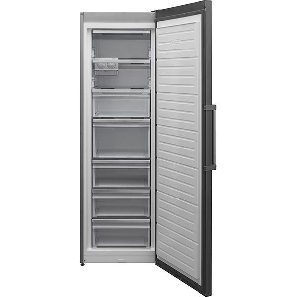Congelator SHARP SJ-SC31CHXI1-EU, No Frost, 280 l, H 186 cm, Clasa A+, argintiu