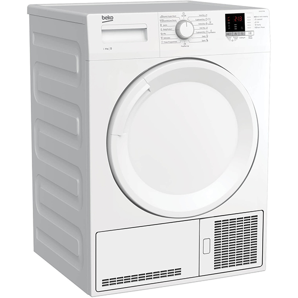 Uscator de rufe BEKO DS8112PAW, Condensare, 8kg, 15 programe, Clasa B, alb