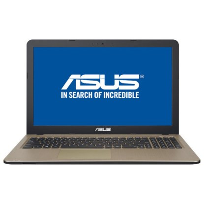 "Laptop ASUS X540UA-DM972, Intel Core i3-8130U pana la 3.4GHz, 15.6"" Full HD, 4GB, SSD 256GB, Intel UHD Graphics 620, Endless"